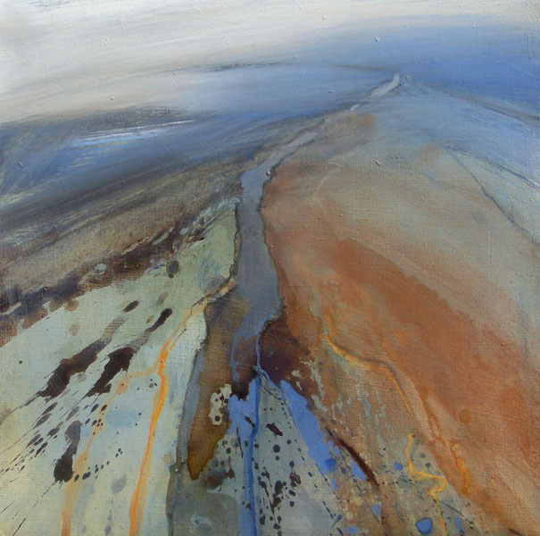 Ridge Walk over Crummack Dale by NORMA STEPHENSON PS