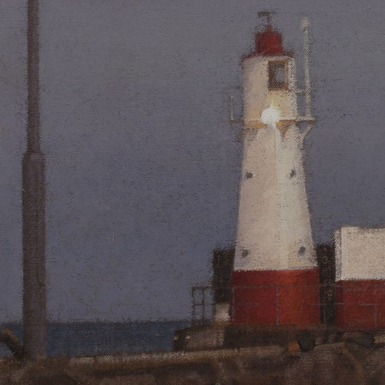 Lighthouse, Newlyn by PETER BEESON