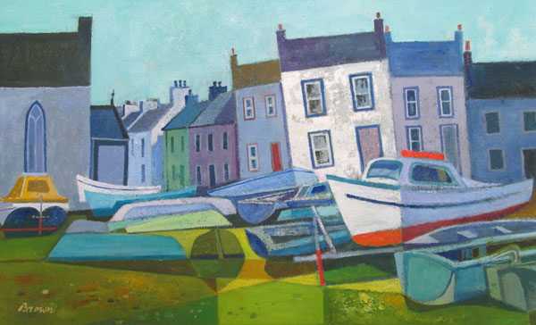 The Boat Yard by DAVY BROWN