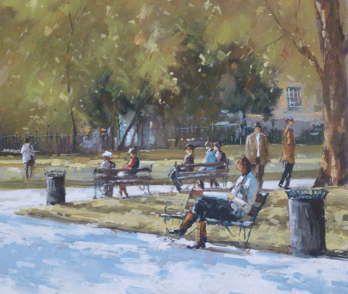 Russell Square, Summer by MICHAEL EWART