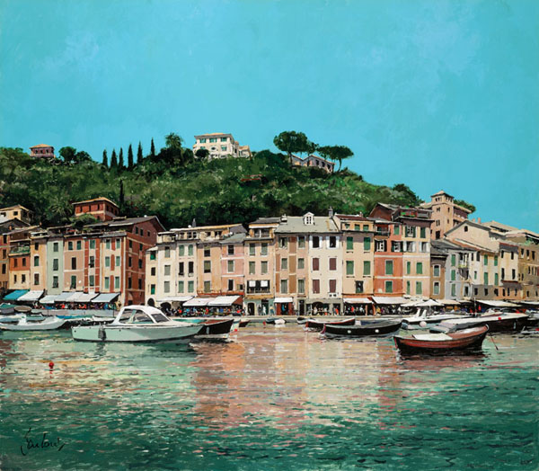 01 Portofino Harbour by JEREMY BARLOW ROI