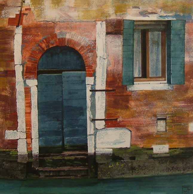 Doorway, Venice by JOHN PICKERING