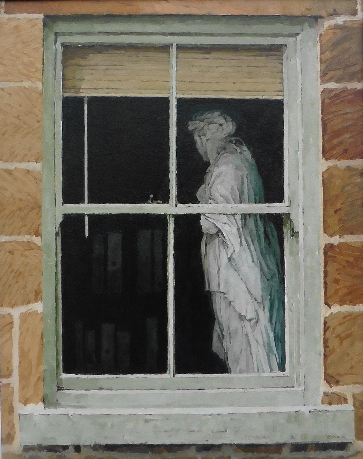 The Muse in the Window by RICHARD DACK RSMA
