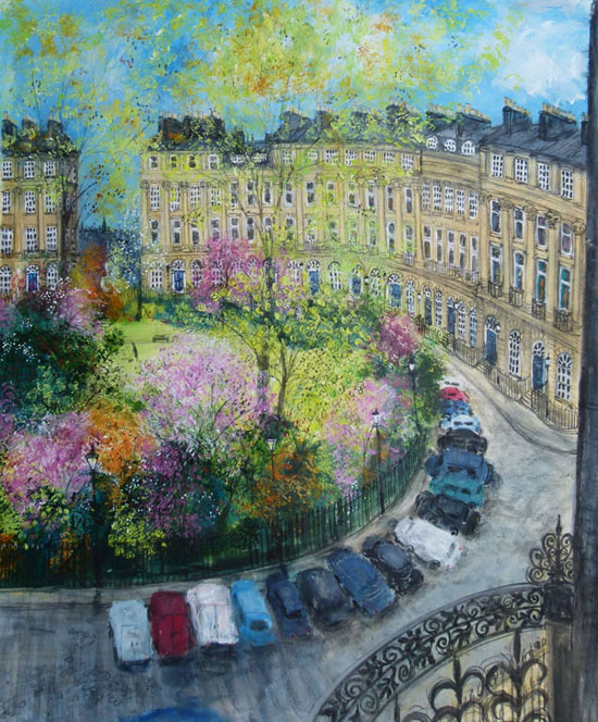 Moray Place, Edinburgh by SELINA THORP