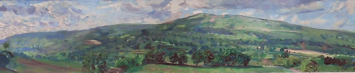 July Evening, Wensleydale by