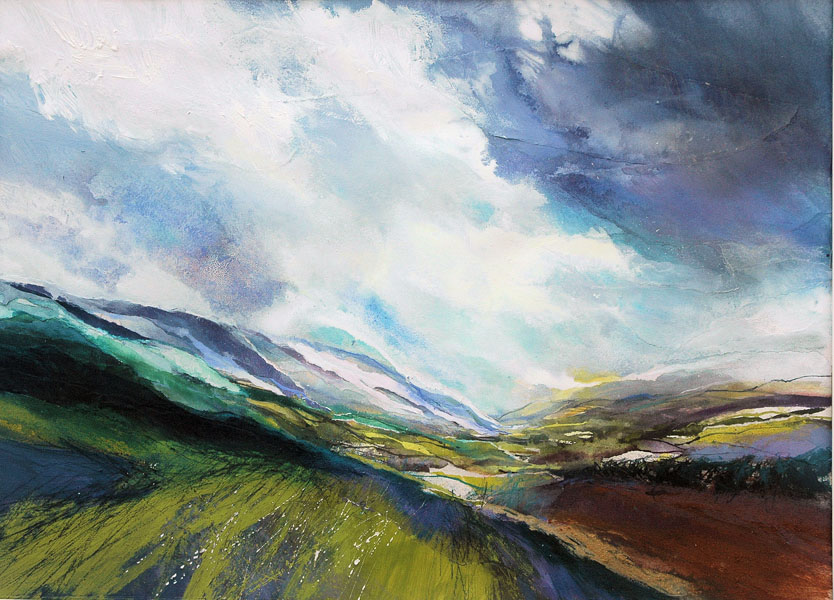 Clearing Rain, Swaledale by