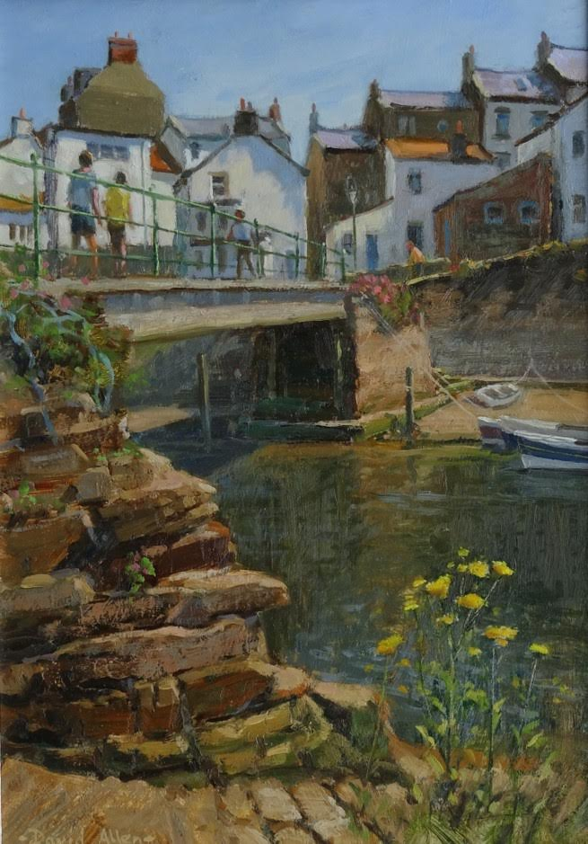 Staithes in LATE jUNE by DAVID ALLEN