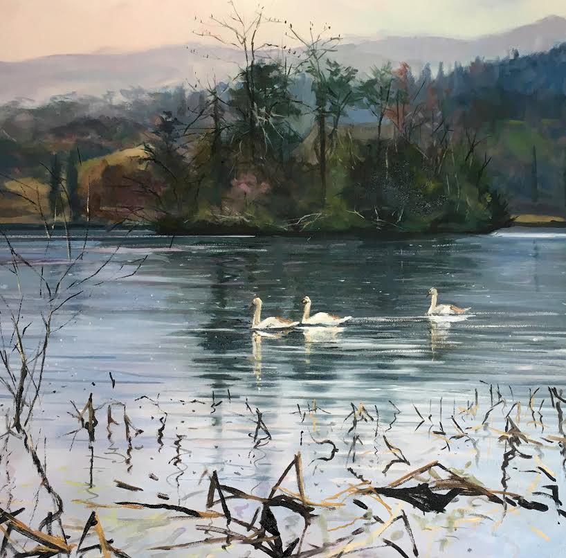 Early Birds, Perthshire by JAMES SOMERVILLE LINDSAY